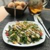 Тальятта с ароматом трюфеля и салатом руккола