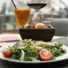 Тальятта с ароматом розмарина и салатом Руккола