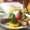 Чивапчичи домашние с кукурузой на гриле