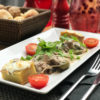 Скалопини из говядины с картофельным гратеном