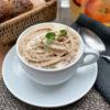 Крем-суп каппучино из белых грибов