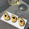 Беломорские мидии со швейцарским сыром Грюйер
